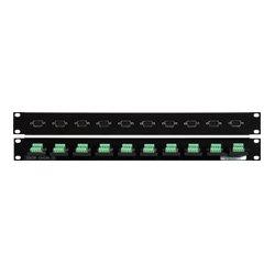 Connectronics - 10XDB-15HDM-TB - 10 Point VGA Male - Terminal Block Patch Panel