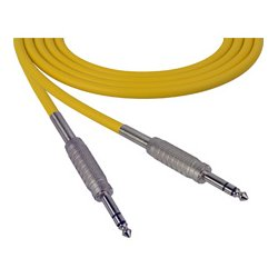 Sescom - SC100SZSZYW-BSTK - Canare Star-Quad Cable 1/4-Inch TRS Male to Male 100 Foot - Yellow - B-Stock (Used)