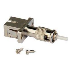 Camplex - FOA-SCF-STM - SC Female to ST Male Singlemode Simplex Hybrid Adapter - Flanged