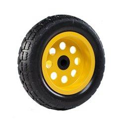 Rock-n-Roller Multicarts - RNR-R10WHL-RT-O - RocknRoller R10WHL/RT/O 10 x 3 Inch Rear Wheel R-Trac No-Flat