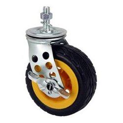 Rock-n-Roller Multicarts - RNR-R5X2CSTR - RocknRoller R5X2CSTR Ground Glider Caster with Brake - Upgrade for R8RT/R10RT Multi-Carts
