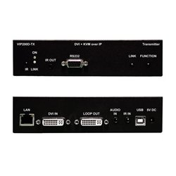 PureLink - VIP-200D TX - - DVI & USB/KVM over IP Transmitter/Encoder