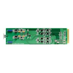 Ward-Beck Systems - M8204+RM - Ward-Beck Stereo Distribution Amplifier LoZ - 60 ohm Version + TB8204P Pluggable Rear Termination