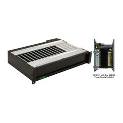 Ward-Beck Systems - MF8212+PS - Ward-Beck 8200 series Rackmount Frame - 12 Card Capacity Plus One (1) M8245A Power Supply Module