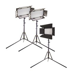 ikan - IBK25013-V3 - ikan IBK25013-V3 Continuous Lighting Kit - 9620.3 F (5326.8 C) - Plastic, Aluminum