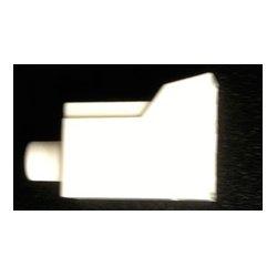 Senko - 931-CAP-W - Senko 1.25mm LC Fiber Connector Dust Cap - White - Each