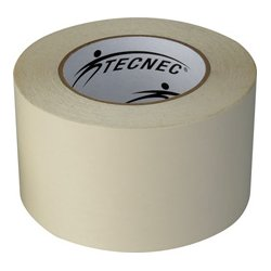 TecNec - DSGT-1X25-WE - Double Sided Gaffers Tape - 1 Inch x 25 Yards - White