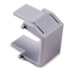 Hellermann Tyton - BLANK-W - HellermannTyton BLANK-W Snap-In Blank Keystone Module, White, package of 10