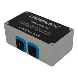Camplex - CMX-NEMA7X2 - Singlemode OpticalCon QUAD NO4FDW-A to (2) NO2-4FDW-A DUO Breakout Box