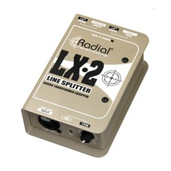 Radial Engineering - RAD-LX2 - LX2 Passive Line Splitter & Attenuator