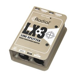 Radial Engineering - RAD-LX3 - LX3 Passive Line Splitter