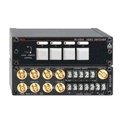 Radio Design Labs (RDL) - RU-VSX4 - RDL Video Switcher - 4x1 - BNC