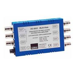 Cobalt Digital - BBG-DA-3G1X6 - Cobalt BBG-DA-3G-1X6 3G/HD/SD/ASI Reclocking Distribution Amplifier w/Bit Rate