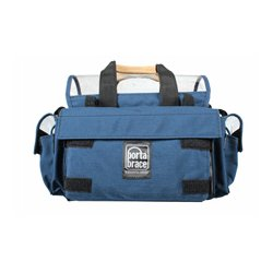 PortaBrace - AO-1.5XH - Portabrace Audio Organizer Includes AH-2H Harness (no strap) Multiple Setups Medium - Blue