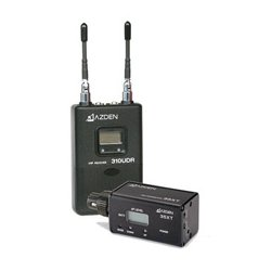 Azden - 310XT - Azden UHF Diversity Wireless Microphone System - 566.13 MHz to 589.88 MHz Operating Frequency - 50 Hz to 15 kHz Frequency Response - 300 ft Operating Range