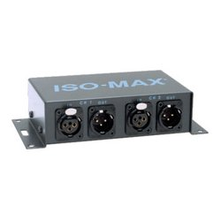 Jensen Transformers - PO-2XX - Jensen DM2-2XX Iso-Max Stereo Line Output Isolator 1 to 1 Ratio XLR IN/Out
