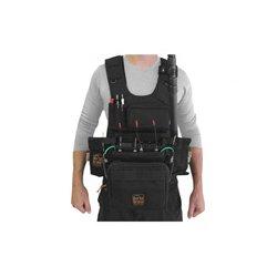 PortaBrace - ATV-MAXX - Portabrace Audio Tactical Vest Zaxcom Maxx - Black