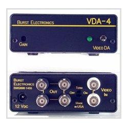 Burst Electronics - VDA-4YC - Burst S-Video 1x4 Distribution Amplifier