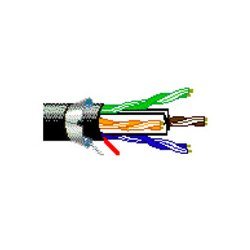 Belden / CDT - 10GX63F0041000 - Belden 10GX63F Plenum Enhanced Category 6A F/UTP Bonded-Pair Multi-Conductor Cable