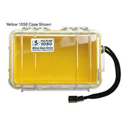 Other - 1050-027-100 - 1050-yel-clr Micro Case 1050 Yellow W/clr Lid