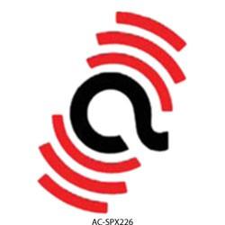 Alarm Controls - SPX226 - Alarm Controls Faceplate - 1-gang - Red