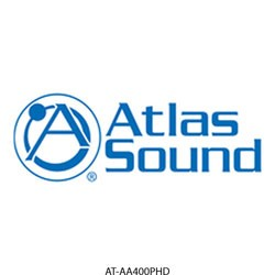 Atlas Soundolier - AA400PHD - Atlas IED 6-Input, 400 Watt Mixer Amplifier With Automatic System Test Circuitry (PHD)