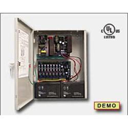 Altronix - 1024UACMJ - Altronix AL1024ULACMJ 10 amp 24vdc p/s in large enc