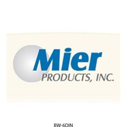 Mier Products - BW-6DIN - 2 Din Rails & Screws-bwsl864