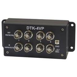 Ditek - 4VP - Ditek DTK-4VP surge protector bnc video 4ch