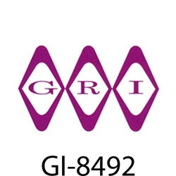 GRI (George Risk Industries) - 8492 - GRI armored cable 3/16 dia. w/two 22GA wires, 12, w/ferls & clamps