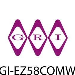 GRI (George Risk Industries) - EZ58COMW - GRI E-Z 58 COM-W racewy wht cmbo pk 5/8 x 1/2