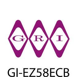 GRI (George Risk Industries) - EZ58ECB - GRI E-Z 58 EC-B ez dct 5/8 x1/2 end cap br 6pk