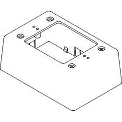 GRI (George Risk Industries) - EZ58SGR - GRI EZ-58-SG-R ez duct rceway plstc box - red