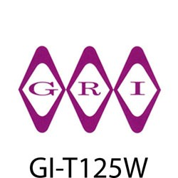 GRI (George Risk Industries) - T125W - GRI T1/2-5W 1/2 double stk tape 5 yard wh