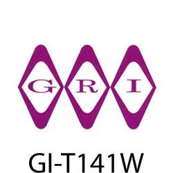 GRI (George Risk Industries) - T141W - GRI T-1/4 W 1/4 wide dbl sided tape 1yard