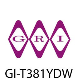 GRI (George Risk Industries) - T381YDW - GRI T3/8-1YD-W 3/8 double sticky tape 1 yd wh