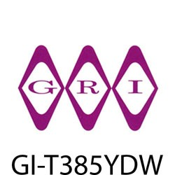 GRI (George Risk Industries) - T385YDW - GRI T3/8-5YD-W 3/8 double sticky tape 5 yd wh
