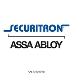 Securitron / Assa Abloy - 02020200 - Securitron 020-20200 legend/lens set lg sq red-pte