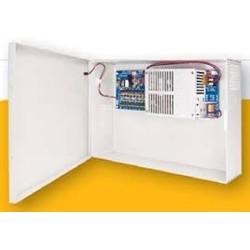 Securitron / Assa Abloy - AQU126-8C - Securitron AQU126-8C AccuPower power supply, 12vdc 6amps, 8 outputs PTC