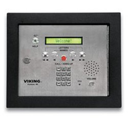 Viking Electronics - AES2000F - Viking Electronics AES-2000F 75 name apartmt entry system