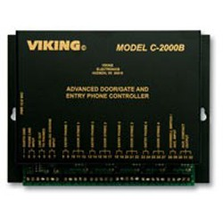 Viking Electronics - C2000B - Viking Electronics C-2000B door entry contrl for 1-4 phne