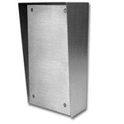 Viking Electronics - VE5X10SSP - Viking Electronics VE5X10PNLSS stainless steel box w/frnt pnl