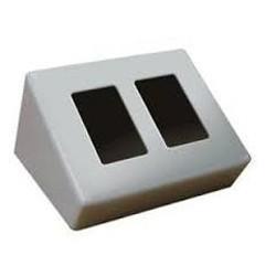 Xantech - DTMSP3B - Xantech DTMSP3B (BLACK) black lectern mnt s/dual gang