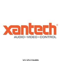 Xantech - SPLCD64BN - Xantech SPLCD64BZBN 6.4 smartpad lcd bezel-brown