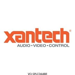 Xantech - SPLCD64BR - Xantech SPLCD64BZSBR bezel splcd 6.4 satin brass