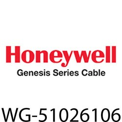Honeywell - 51026106 - Genesis Cable 51026106 23/4pr cat6+ cmp 5c rlbx blu