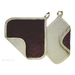Admiral Craft - 11PH-FG8 - Admiral Craft 11PH-FG8 Flameguard Pot Holder