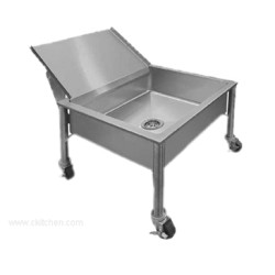 Piper Products - 337-3555 - /Servolift Eastern 337-3555 Portable Soak Sink