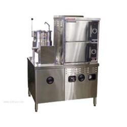 Market Forge - 3500M42MT6E - Industries 3500M42MT6E Convection Steamer/Kettle Combination