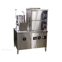 Market Forge - 3500M42MT6G - Industries 3500M42MT6G Convection Steamer/Kettle Combination